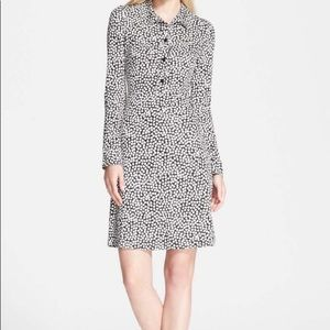 DVF 100% silk dress